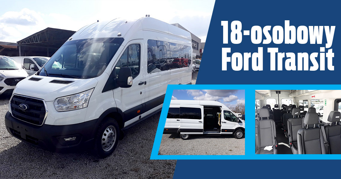 18-osobowy Ford Transit.