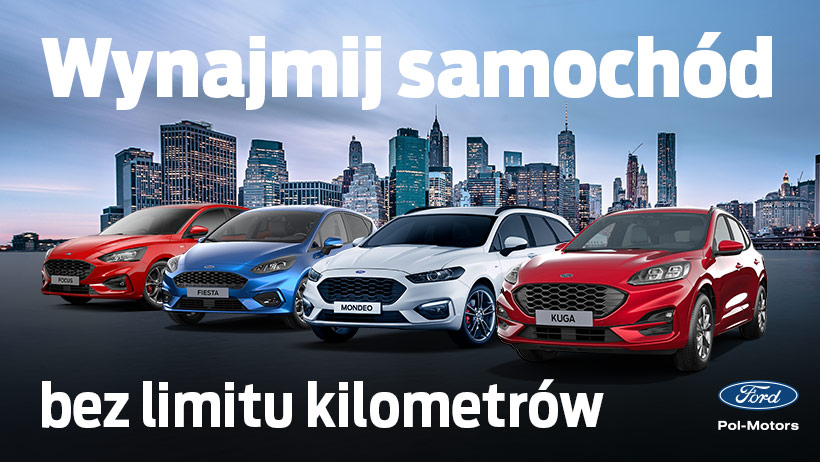 Wynajmij samochód bez limitu kilometrów.